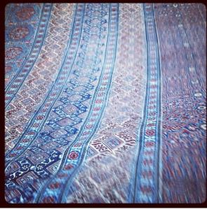 Indian block printing method, simply exquisite masterful and rich.