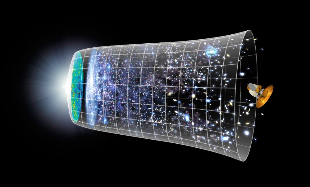 the expanding and accelerating universe essay