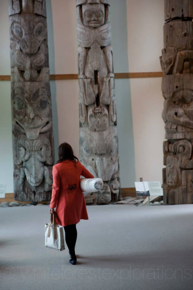 The Haida Heritage Center, Museum at Kay Llnagaay. Alexander Schmidt photo.