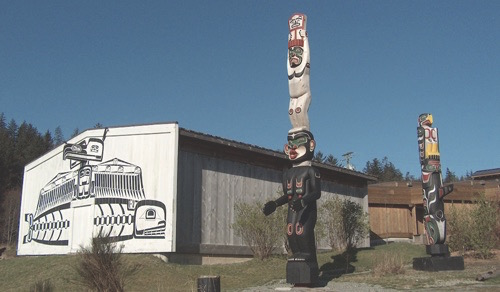 The U'mista Cultural Centre and Society, Alert Bay, British Columbia. Image sourced from website.
